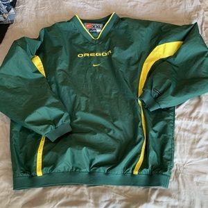 Nike Oregon Ducks Windbreaker Pull Over Jacket